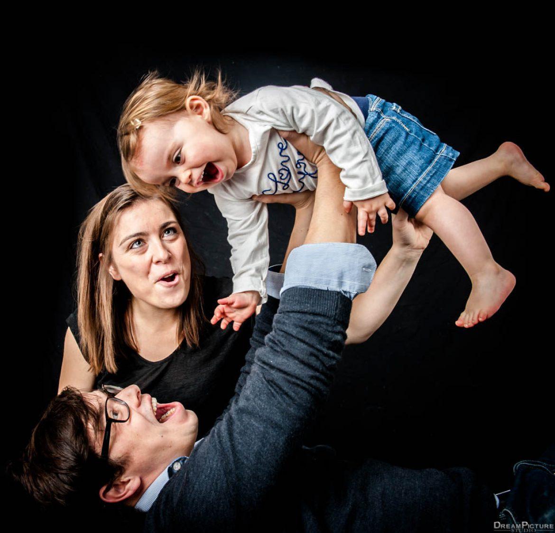 Photos famille studio